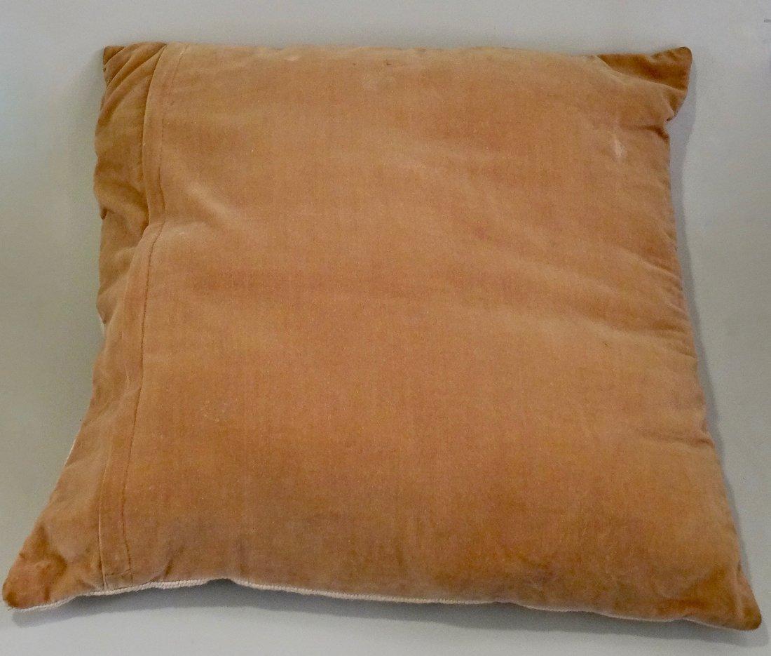 Needlepoint Lemons Designer Pillow - 4