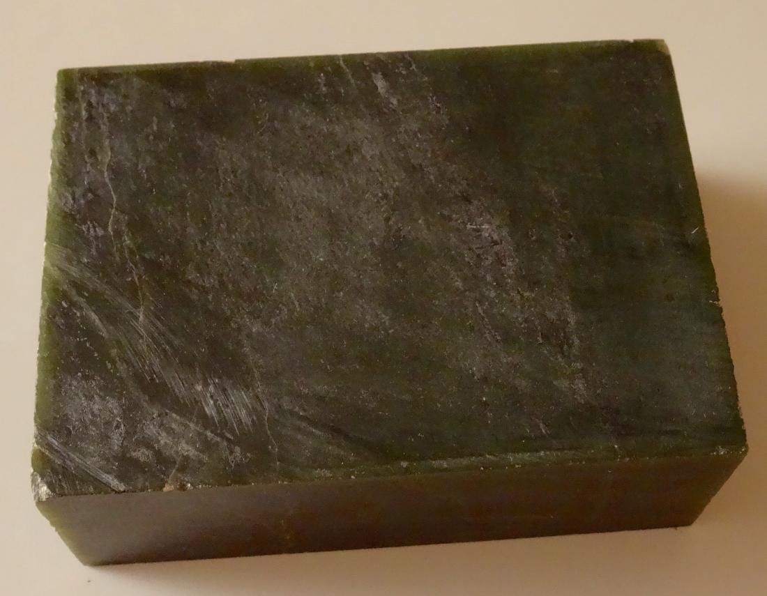 Large Jade Block for Carving Rough Slab - 4