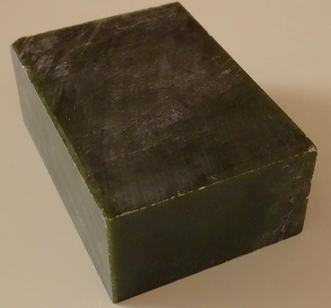 Large Jade Block for Carving Rough Slab - 5