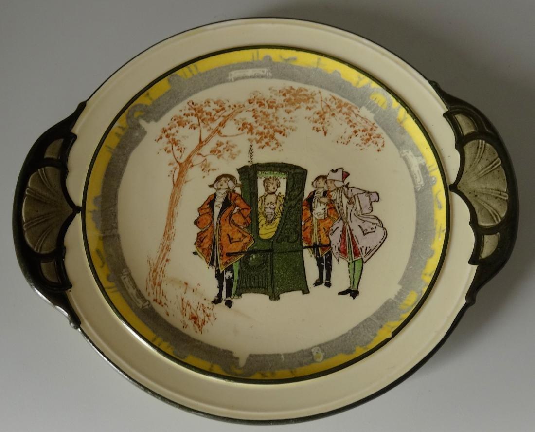 Art Deco Period Royal Doulton Tray Platter Handled