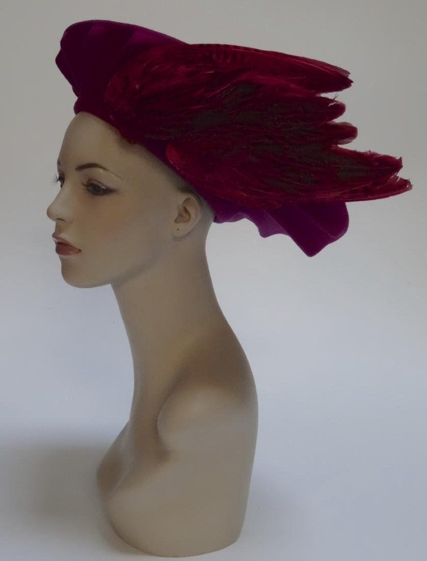Vintage Bird Wing Ladies Hat
