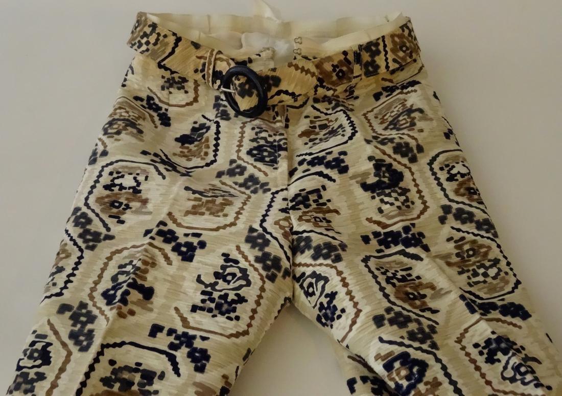 Vintage 70s Jaeger English Designer Pants Made in Great - 2