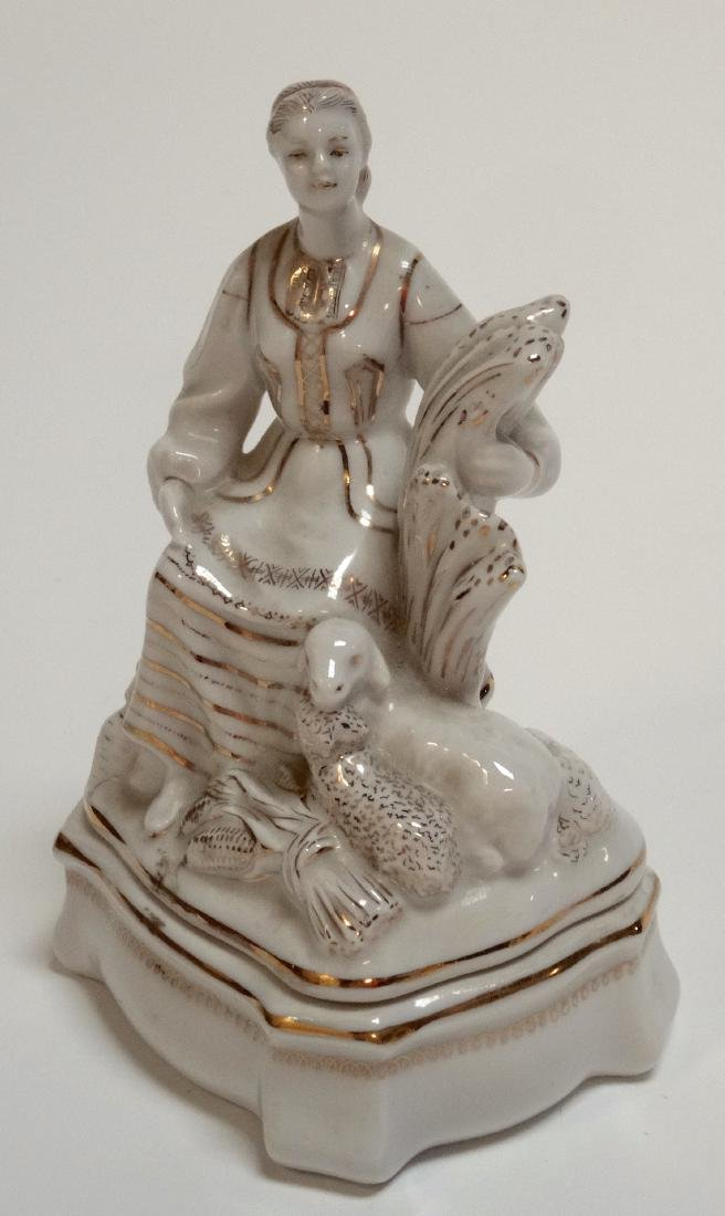 USSR Rare Belarus Soviet Propaganda Porcelain Figurine - 3