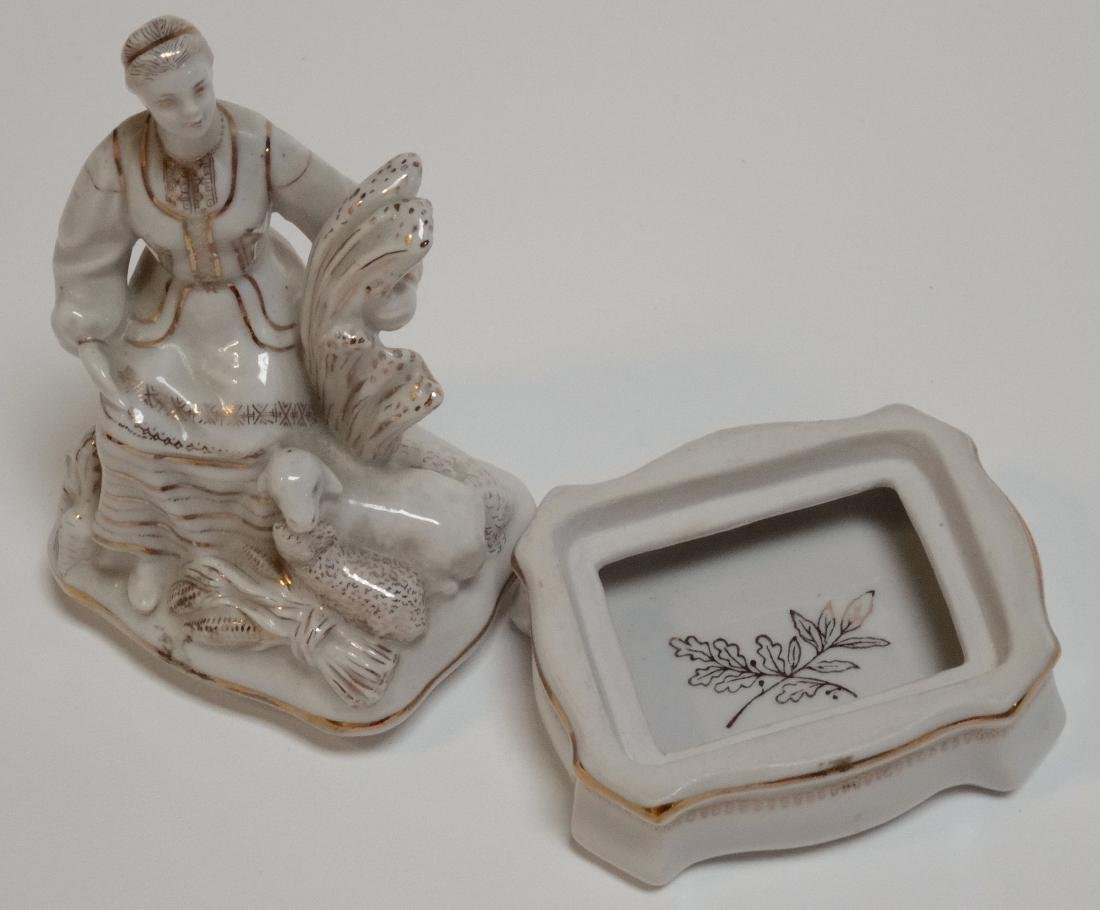USSR Rare Belarus Soviet Propaganda Porcelain Figurine - 6