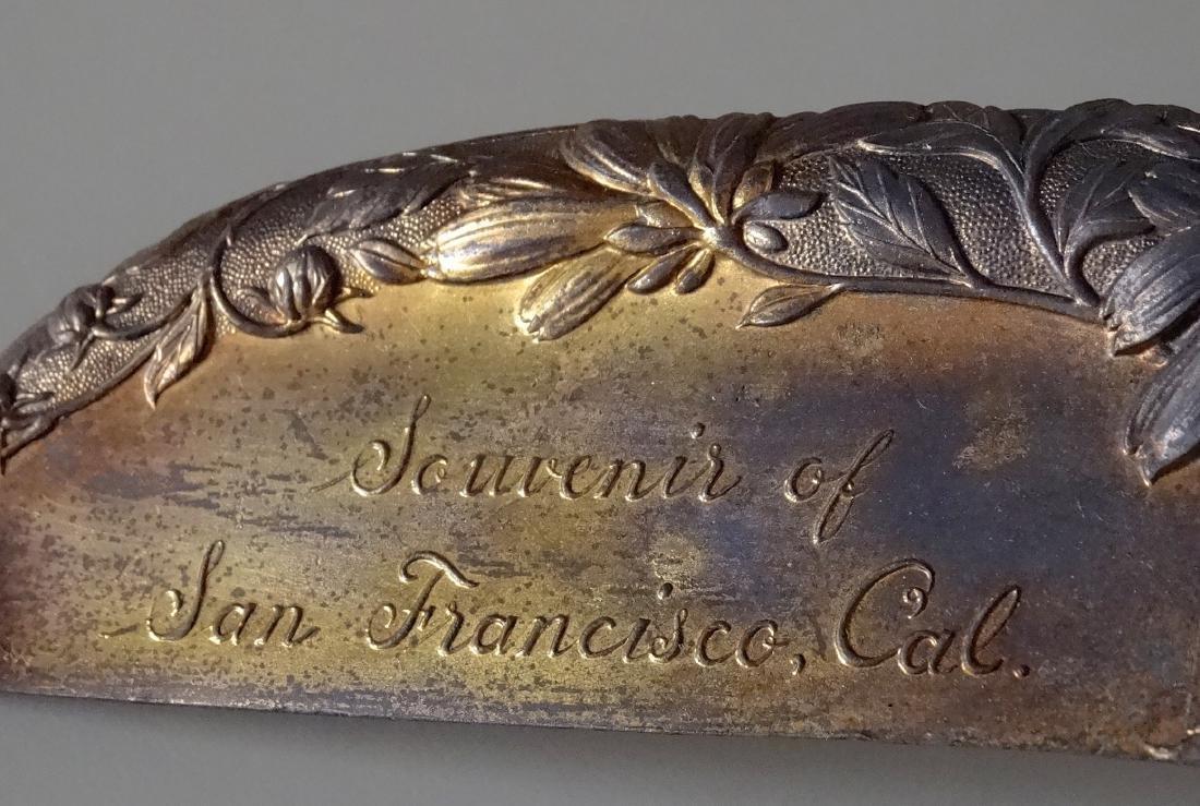 Antique Souvenir of San Francisco World Fair Crumb Scoo - 2
