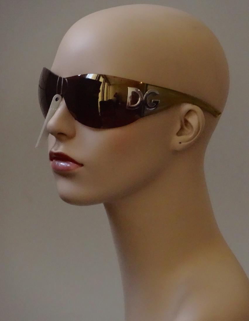 Authentic DOLCE GABBANA Sunglasses Rimless Italy Made