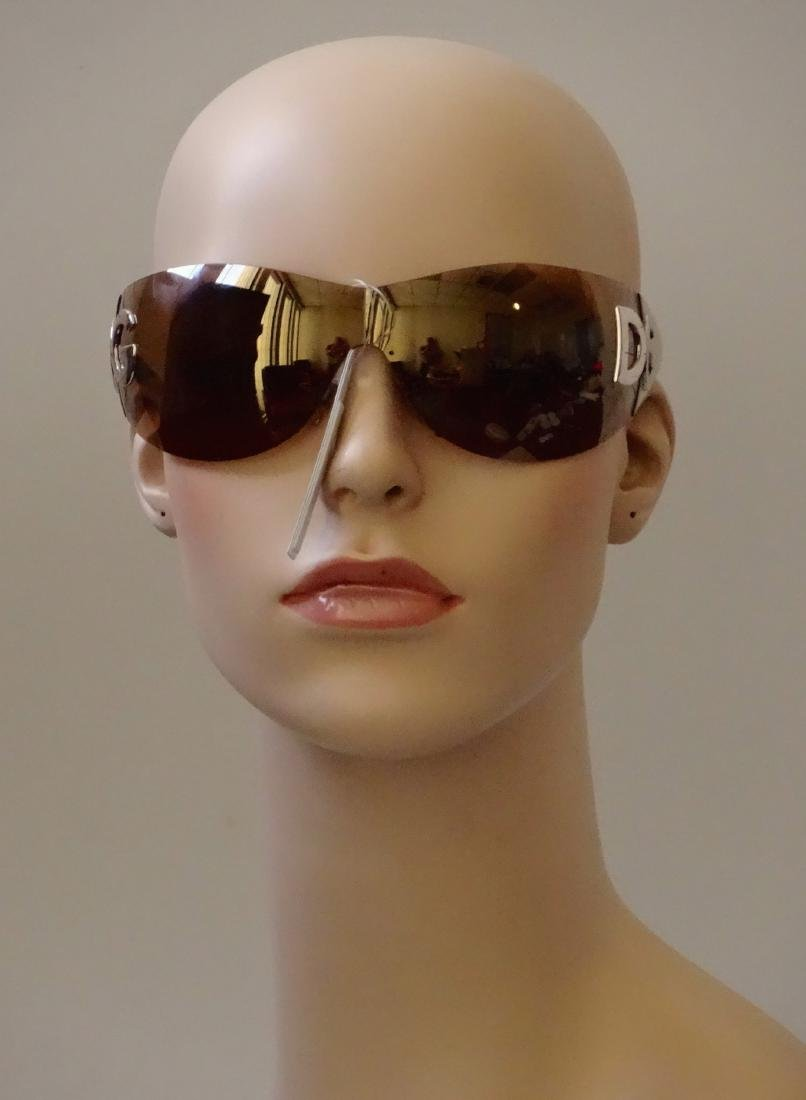 Authentic DOLCE GABBANA Sunglasses Rimless Italy Made - 2