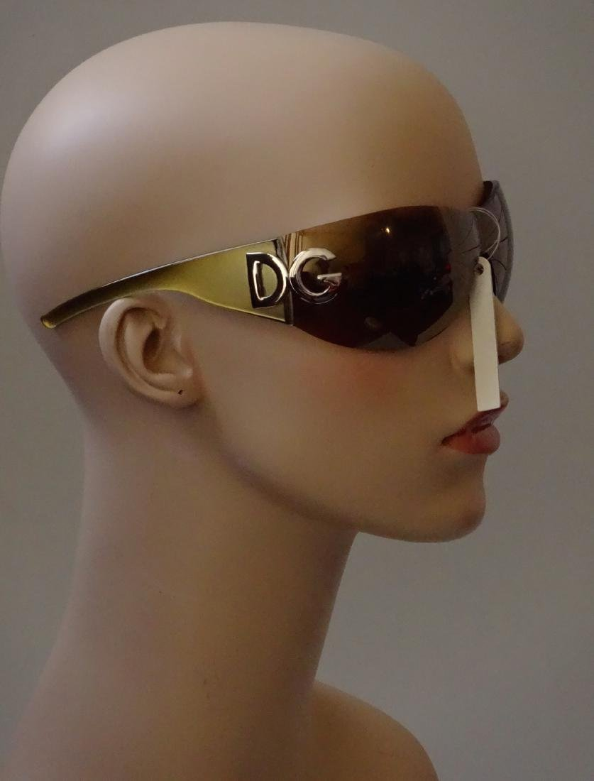 Authentic DOLCE GABBANA Sunglasses Rimless Italy Made - 3
