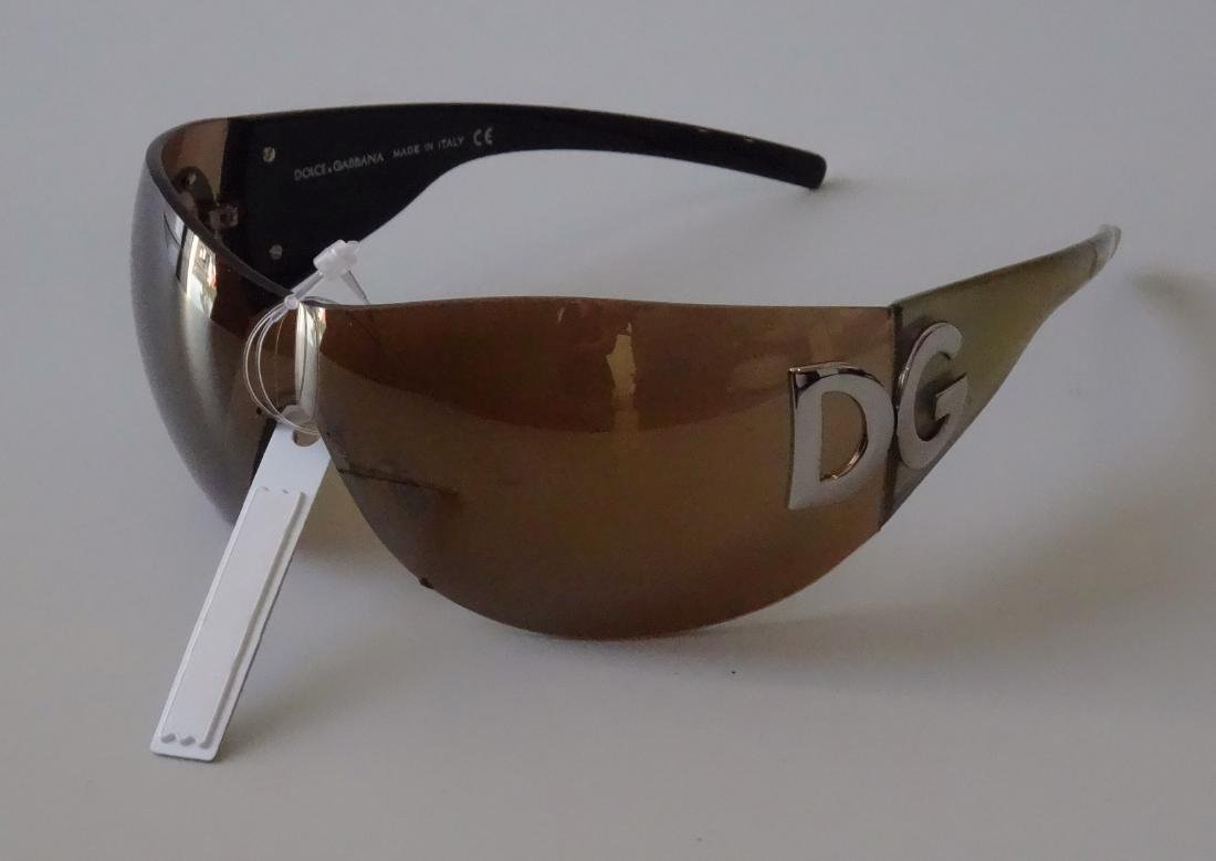 Authentic DOLCE GABBANA Sunglasses Rimless Italy Made - 5