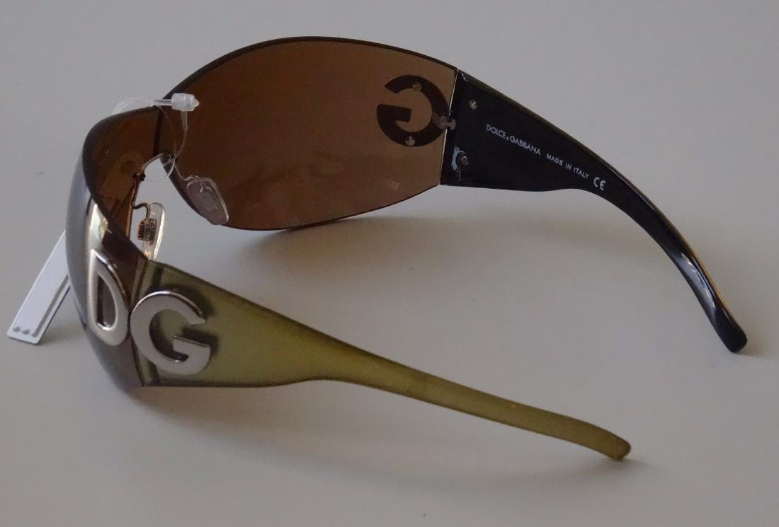 Authentic DOLCE GABBANA Sunglasses Rimless Italy Made - 6