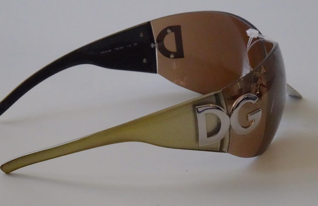 Authentic DOLCE GABBANA Sunglasses Rimless Italy Made - 7