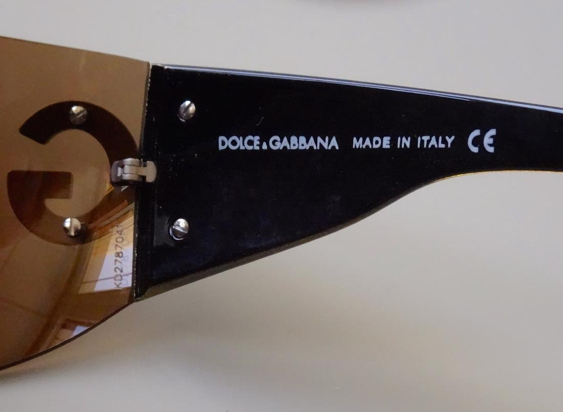 Authentic DOLCE GABBANA Sunglasses Rimless Italy Made - 8