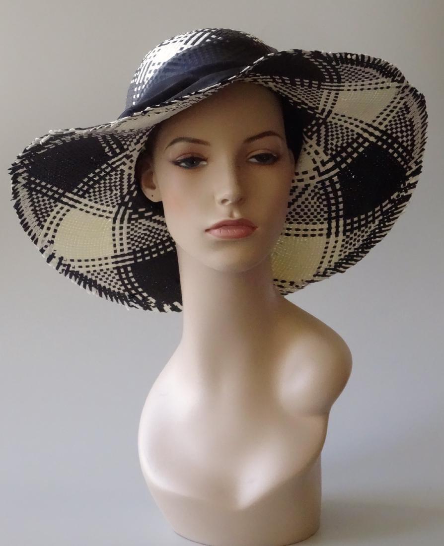 Italian Women's Paper Straw Hat Soprattutto Cappelli