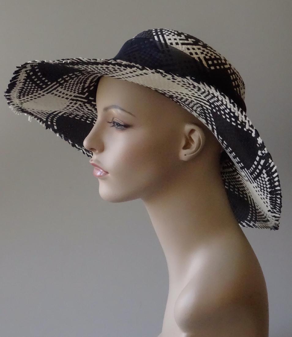 Italian Women's Paper Straw Hat Soprattutto Cappelli - 2