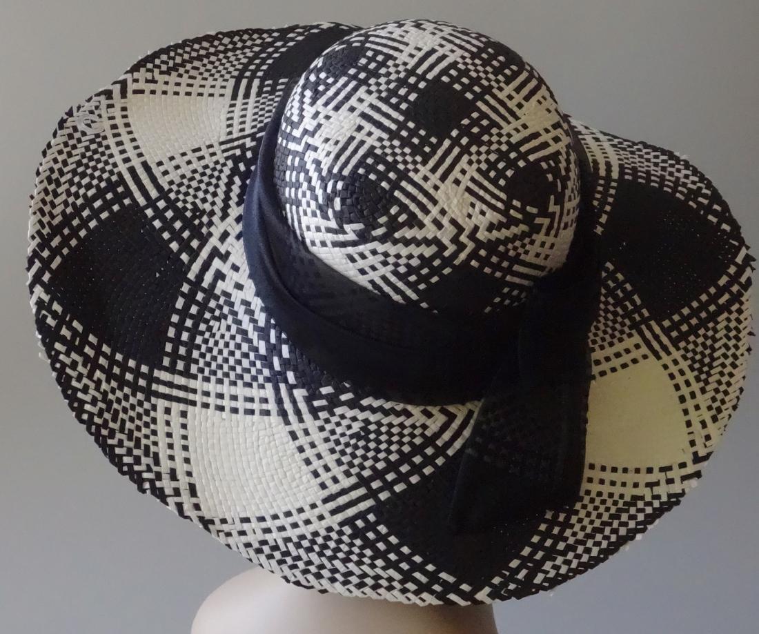 Italian Women's Paper Straw Hat Soprattutto Cappelli - 3