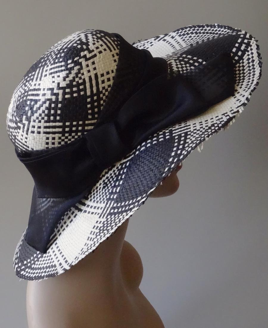 Italian Women's Paper Straw Hat Soprattutto Cappelli - 4