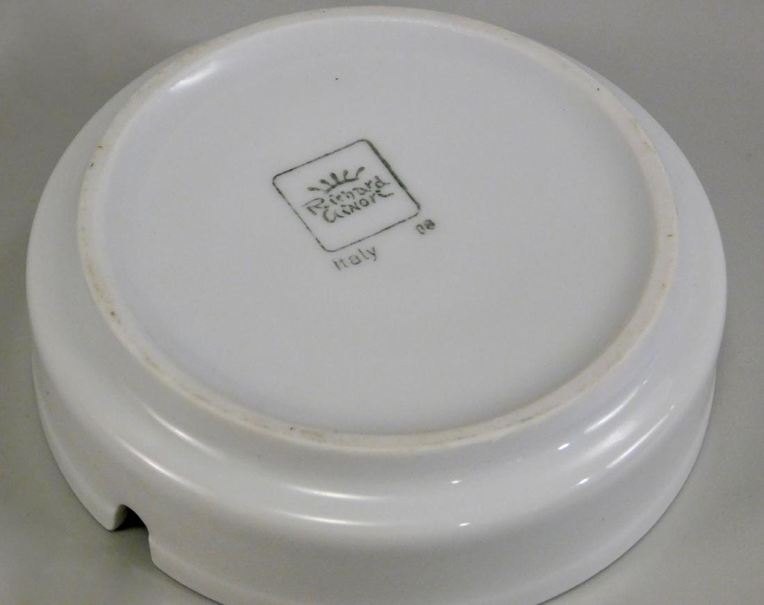 Italian Villa d Este Crest Ginori Porcelain Ashtray - 4