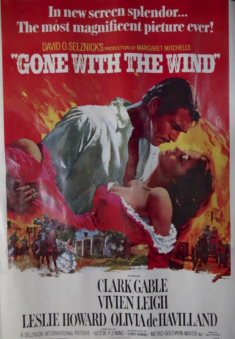 Gone With The Wind Picture Poster by Portal - 3