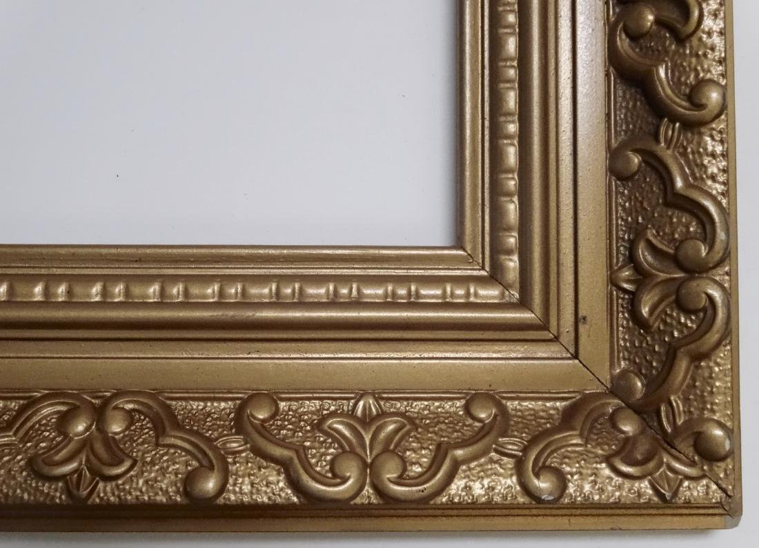 Vintage Ornate Gold Picture Frame 28x36