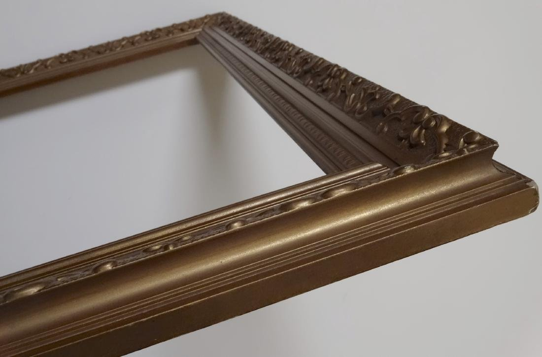 Vintage Ornate Gold Picture Frame 28x36 - 3