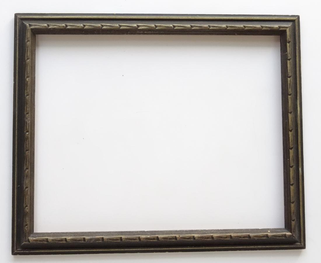 Carved Wood Vintage Picture Frame