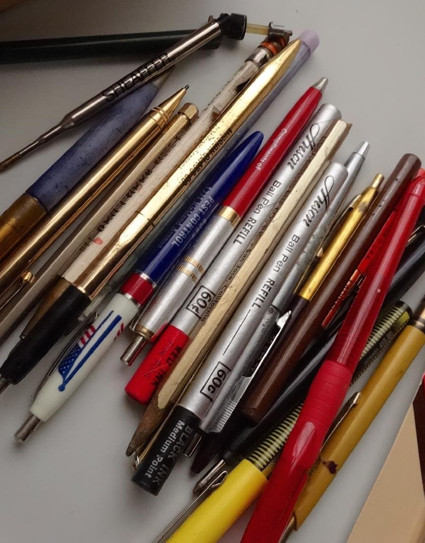 Lot of Vintage Ball Pens Etc Out of the Box - 3