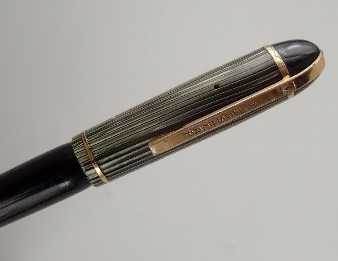 Eversharp Skyline c. 1944 Celluloid Fountain Pen 14k - 5