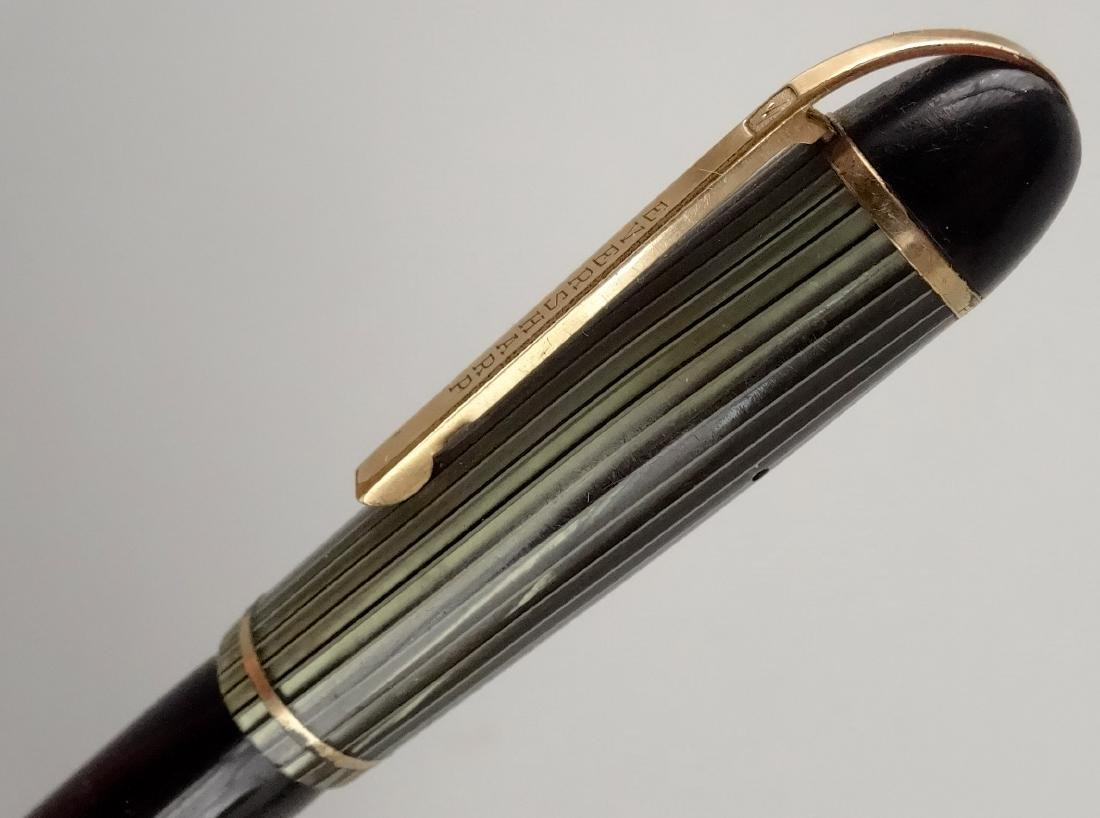 Eversharp Skyline c. 1944 Celluloid Fountain Pen 14k - 6