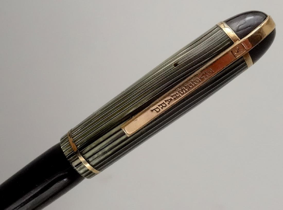Eversharp Skyline c. 1944 Celluloid Fountain Pen 14k - 8