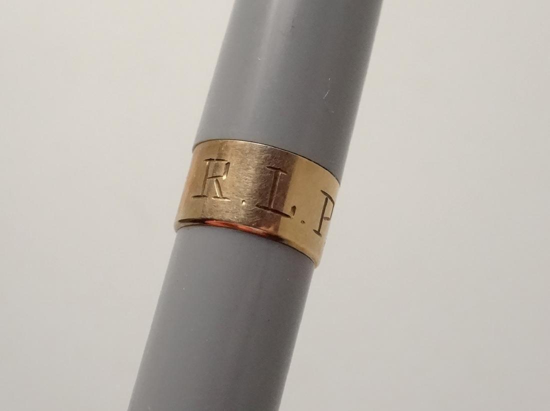 Sheaffer Admiral Snorkel Fountain Pen 14 Karat Gold Nib - 7