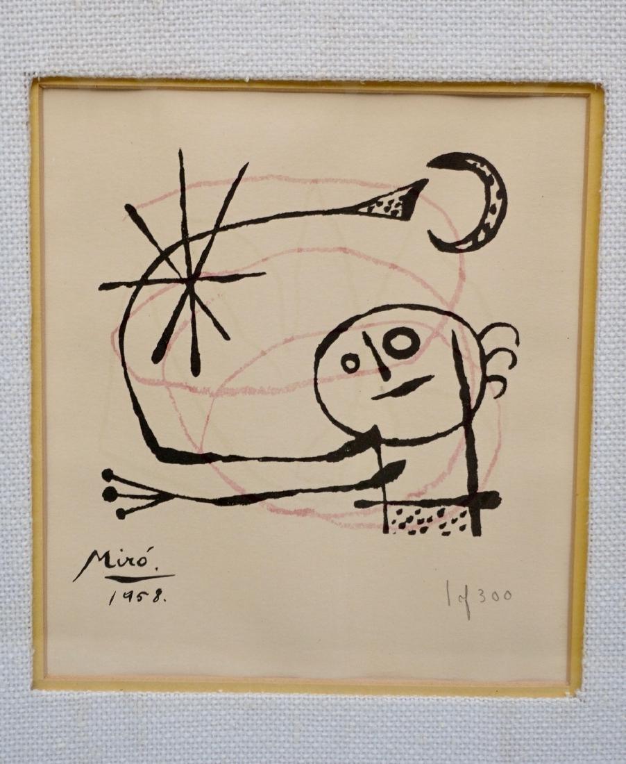 Joan Miro 1958 1/300 Petite Fille Dans Les Etoiles