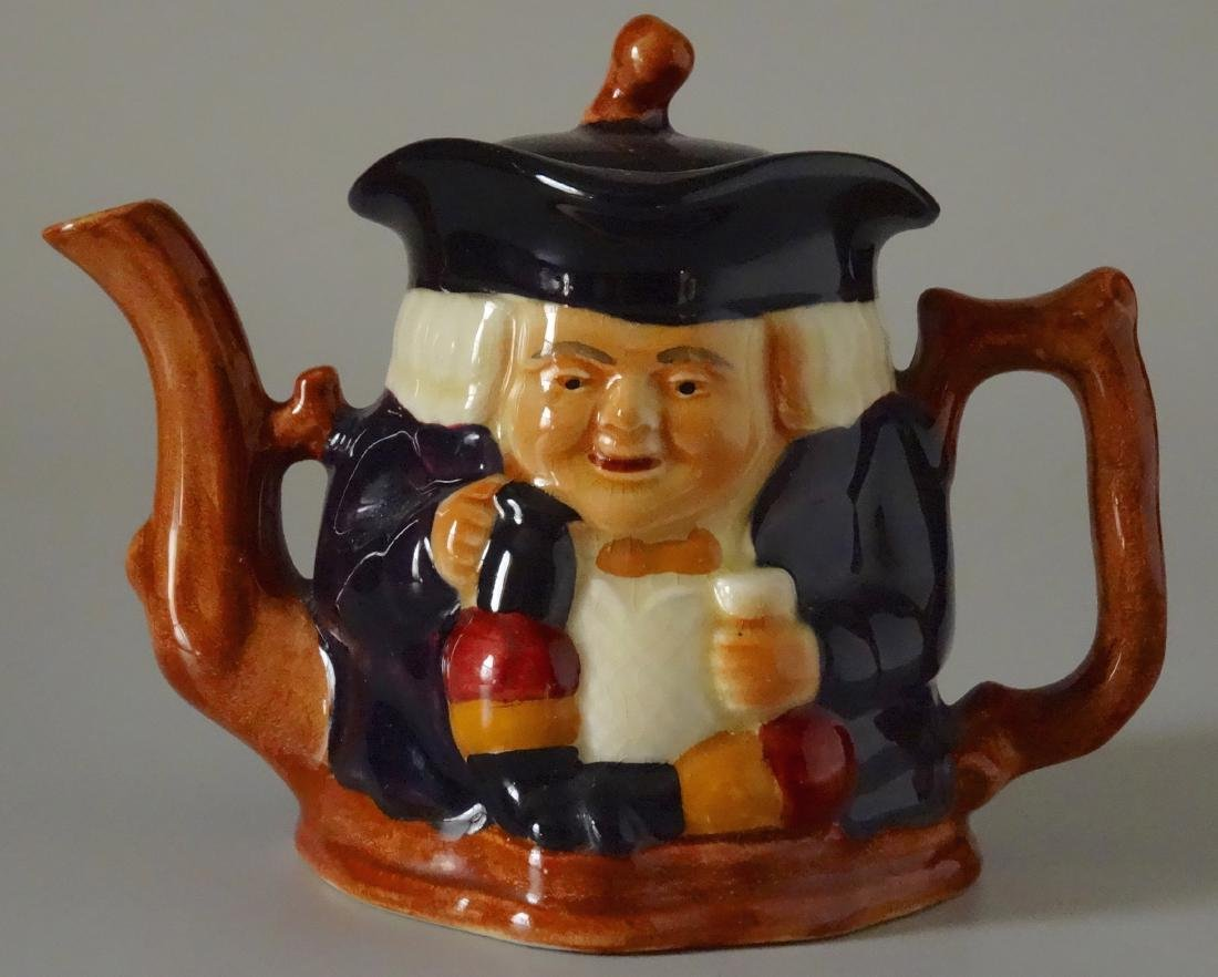 Staffordshire Shorter and Son Figural Toby Teapot