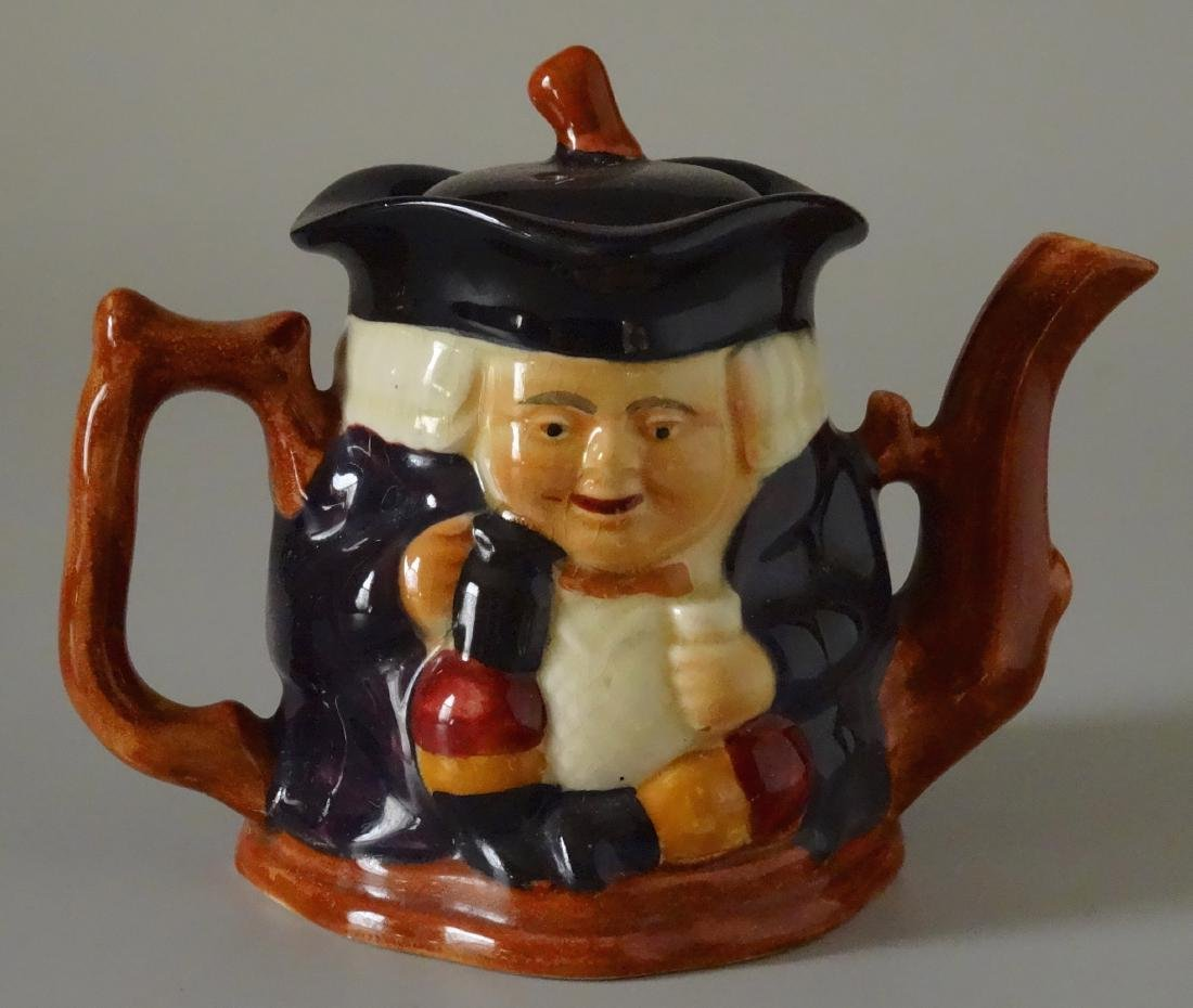 Staffordshire Shorter and Son Figural Toby Teapot - 2