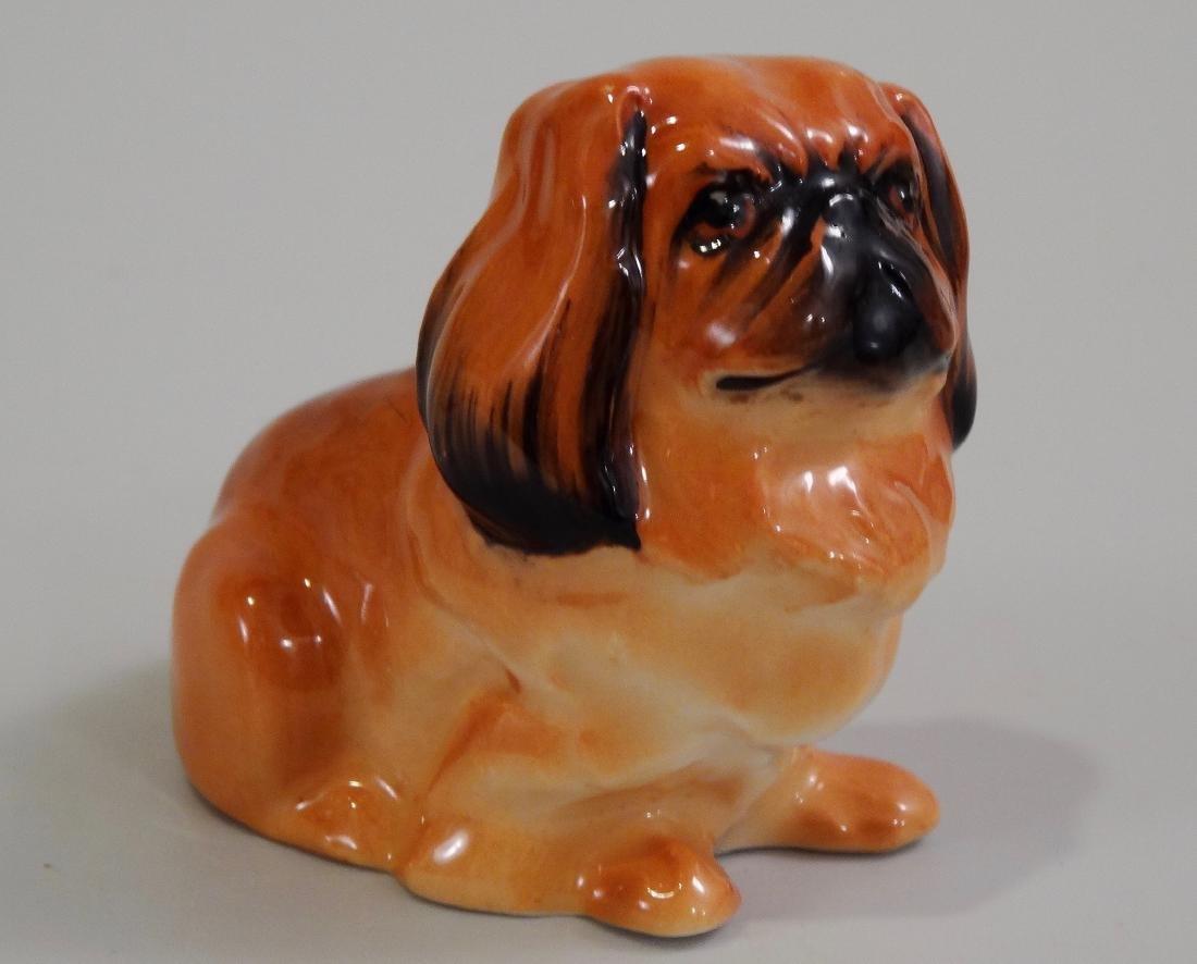 Royal Doulton Bone China Pekingese Dog Figurine
