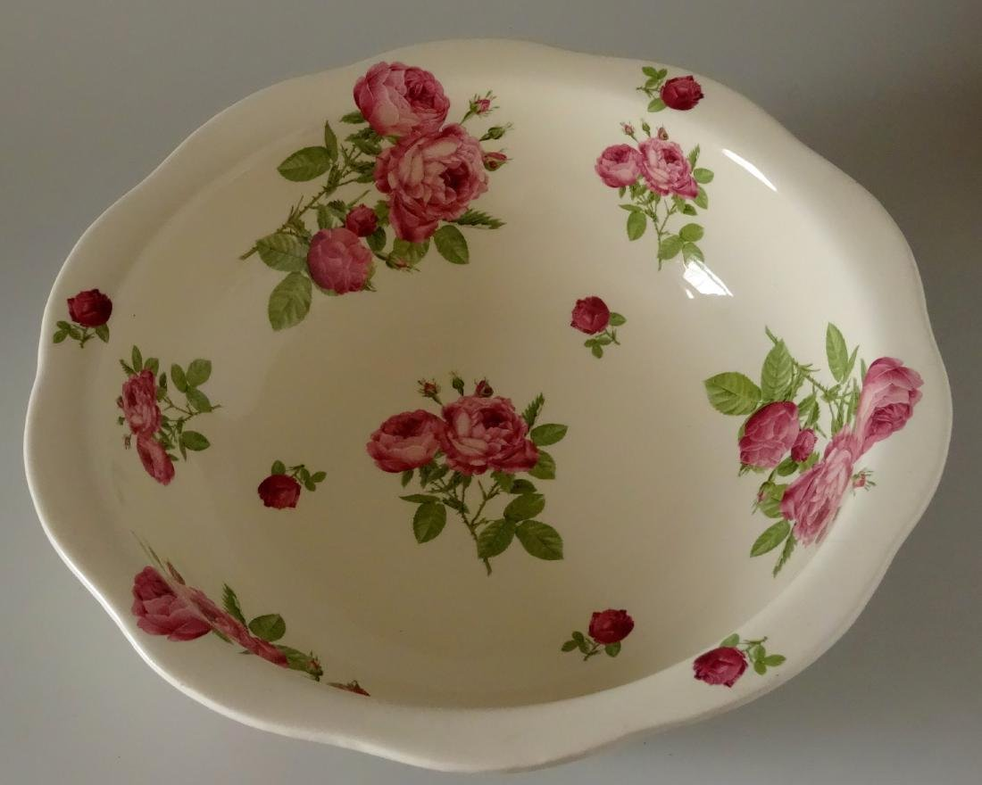 Victorian Trading Co Wash Basin Bowl & Water Pitcher - 3
