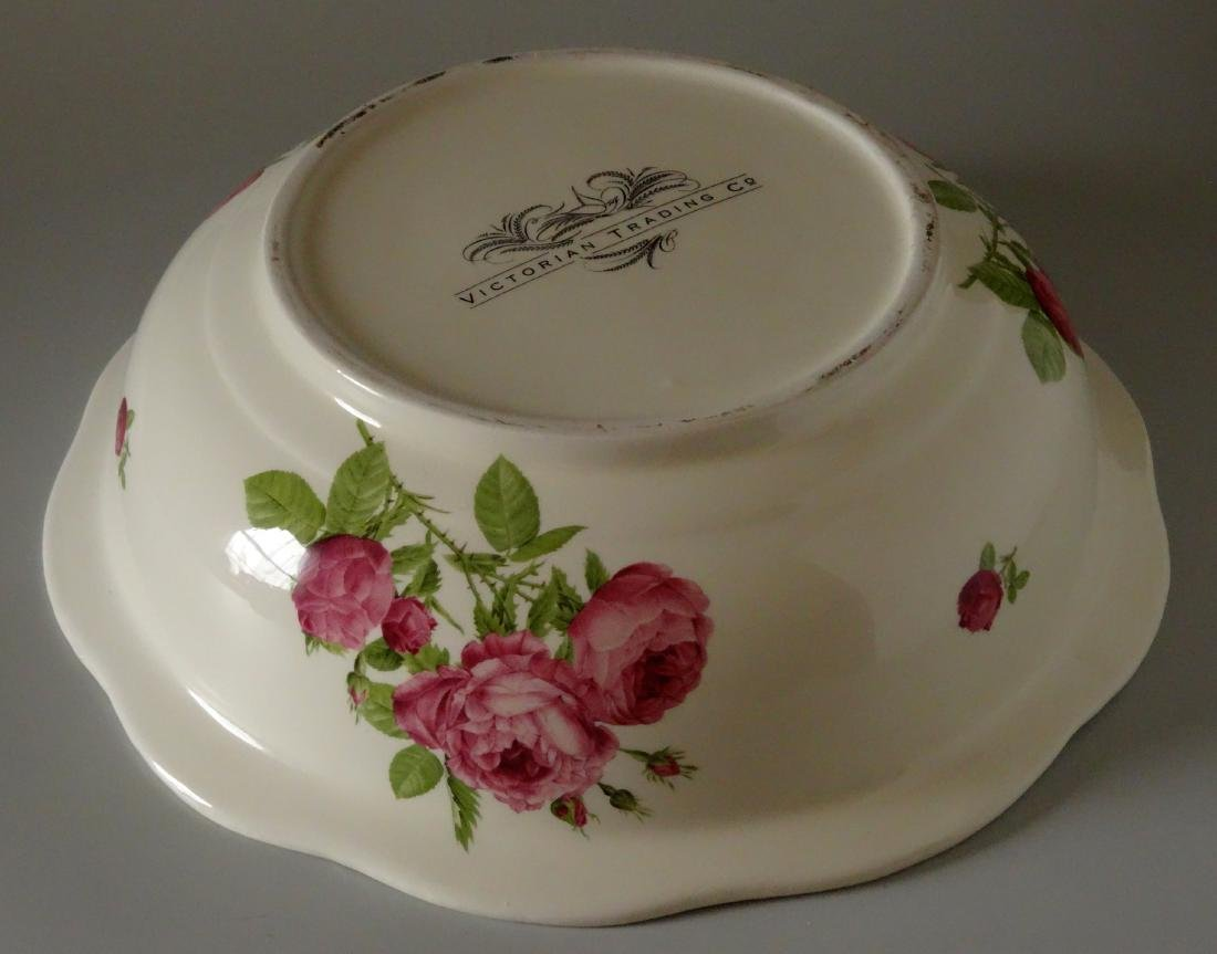 Victorian Trading Co Wash Basin Bowl & Water Pitcher - 4