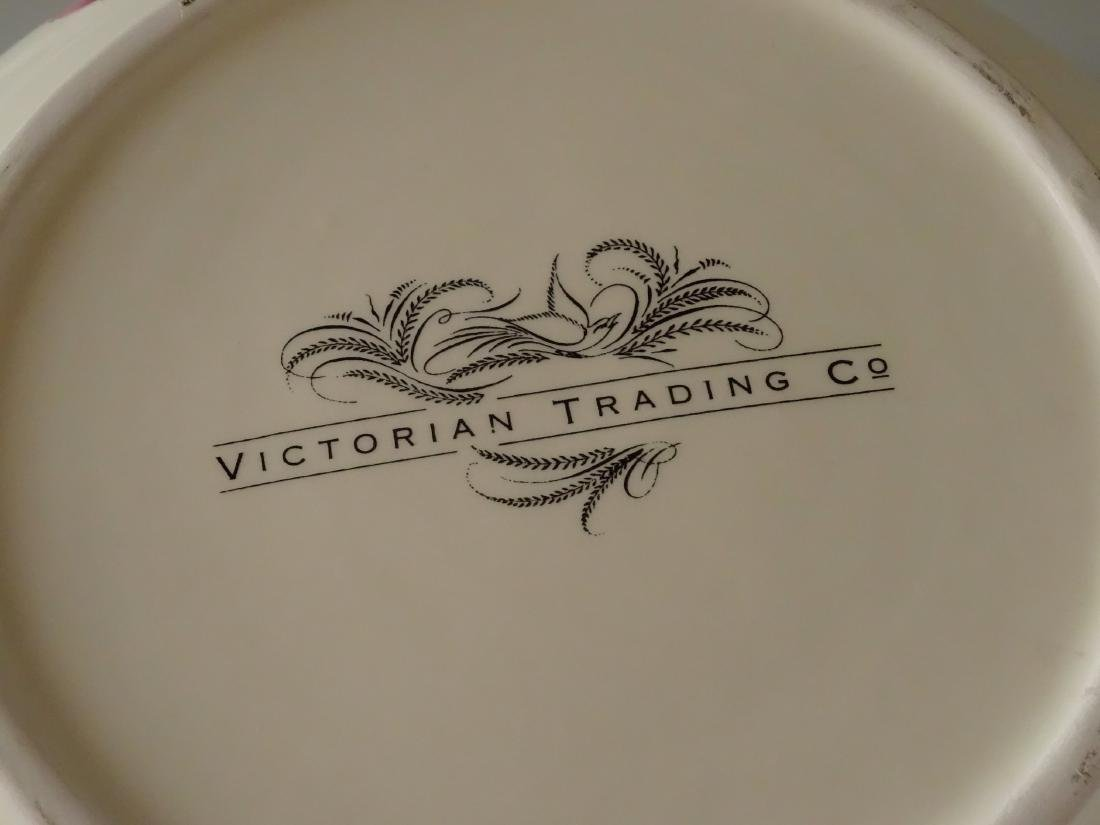 Victorian Trading Co Wash Basin Bowl & Water Pitcher - 5