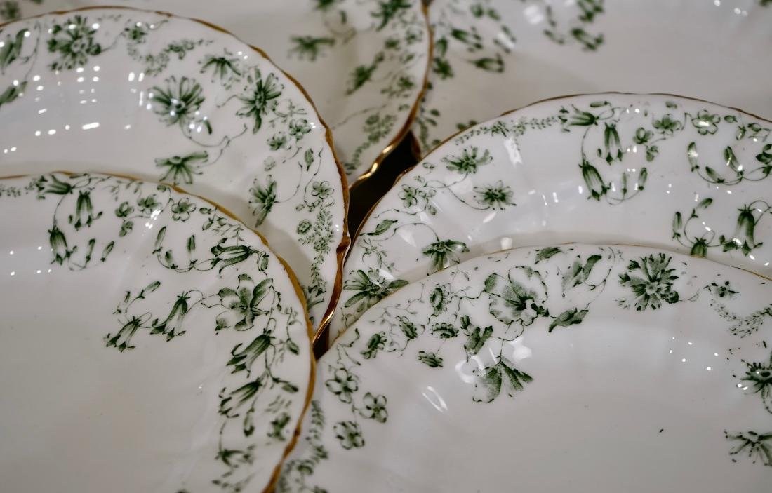 Antique c1910 Wilkie Birks & Co Porcelain Plates Lot of - 2