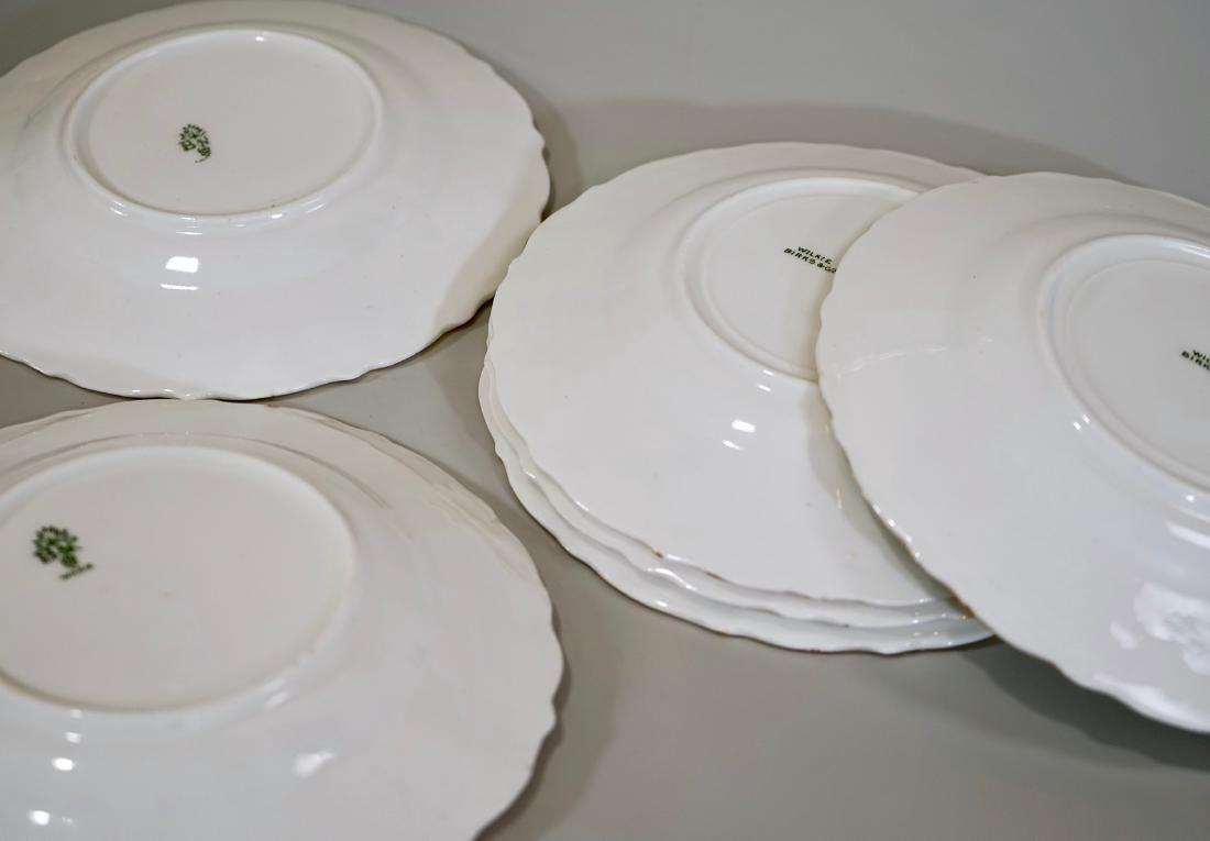 Antique c1910 Wilkie Birks & Co Porcelain Plates Lot of - 3