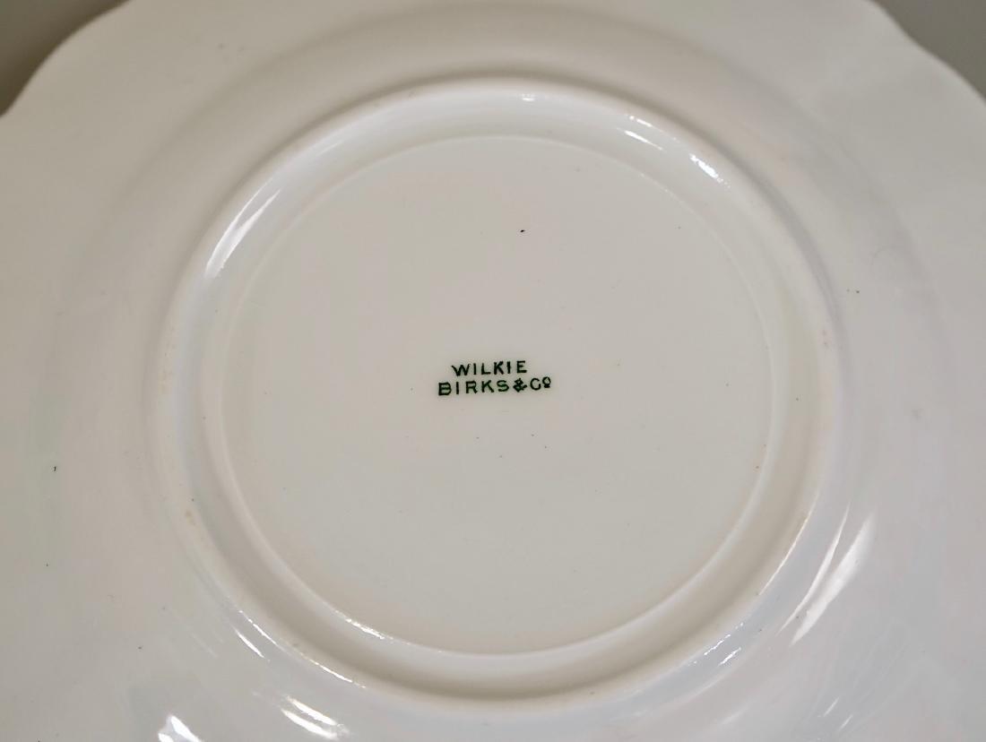 Antique c1910 Wilkie Birks & Co Porcelain Plates Lot of - 4