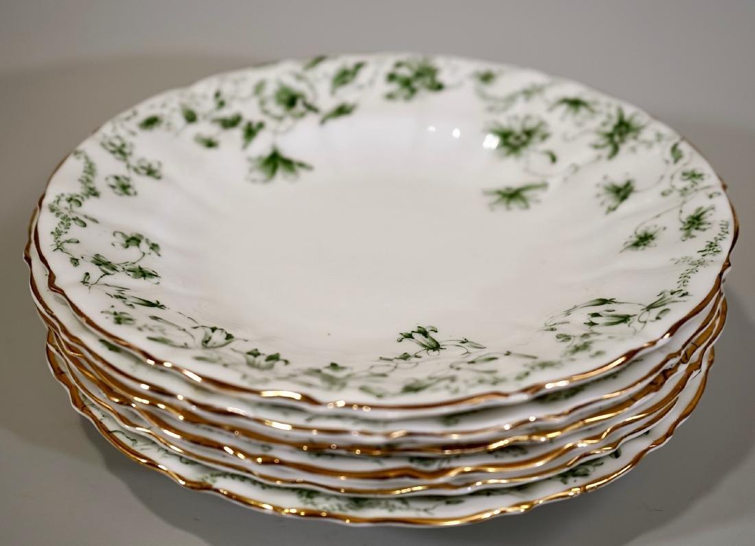 Antique c1910 Wilkie Birks & Co Porcelain Plates Lot of - 6