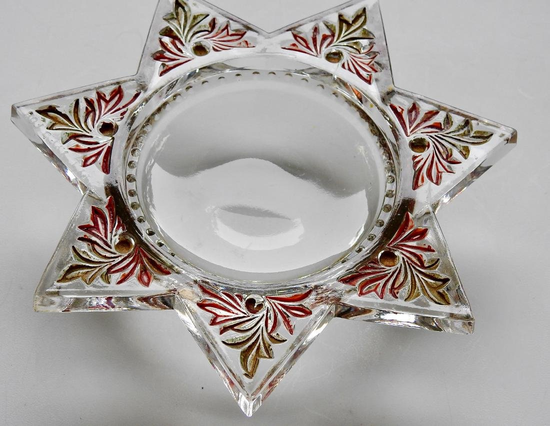 Antique Victorian Star Desk Top Magnifier Paperweight - 5