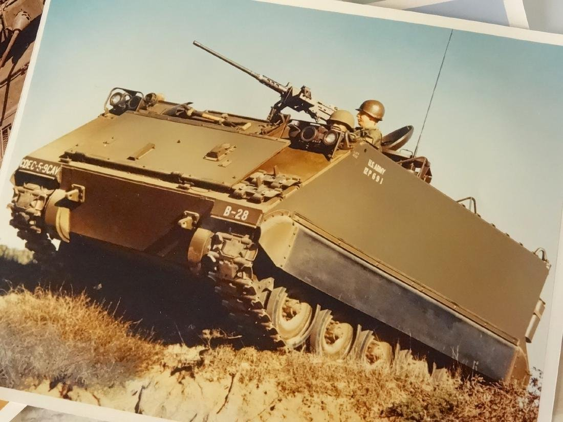 Original Vintage US Military Armored Vehicles Official - 3