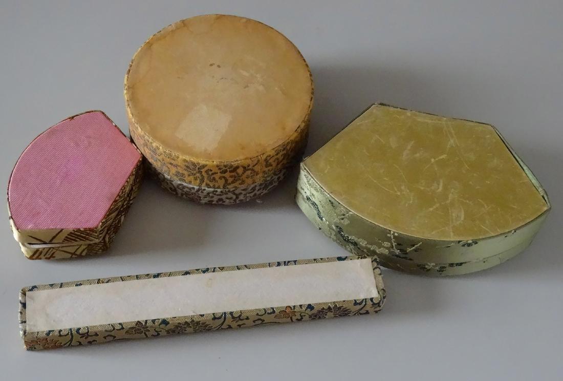 Vintage Chinese Silk Box Trinket Jewelry c 1930-1960 - 3