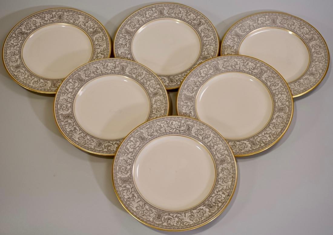 Franciscan Renaissance Fine Porcelain Plates Lot of 6