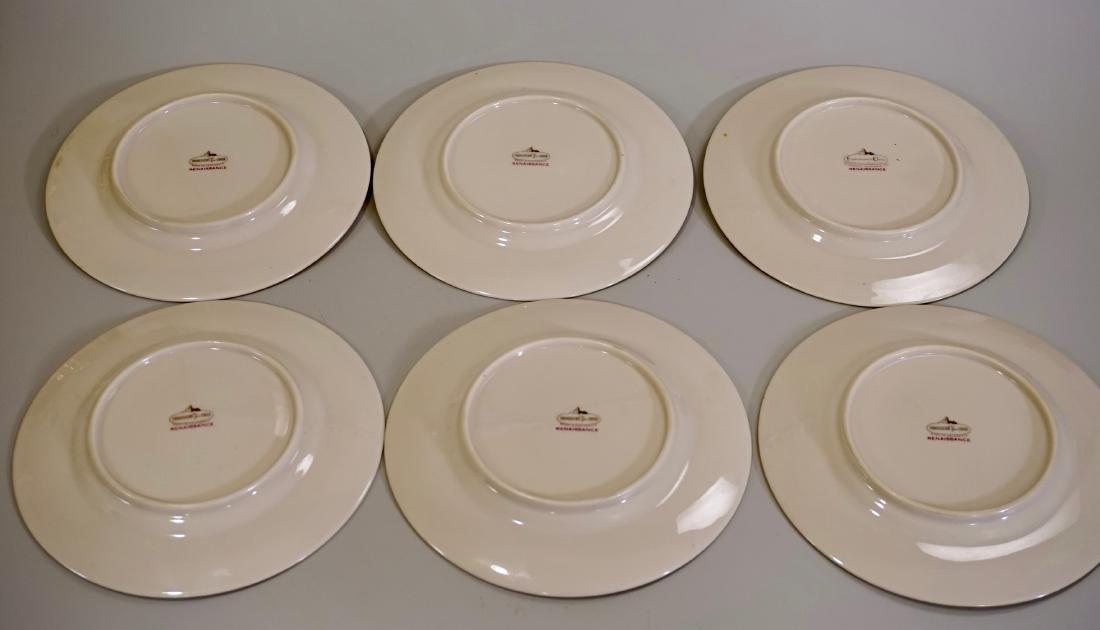 Franciscan Renaissance Fine Porcelain Plates Lot of 6 - 3