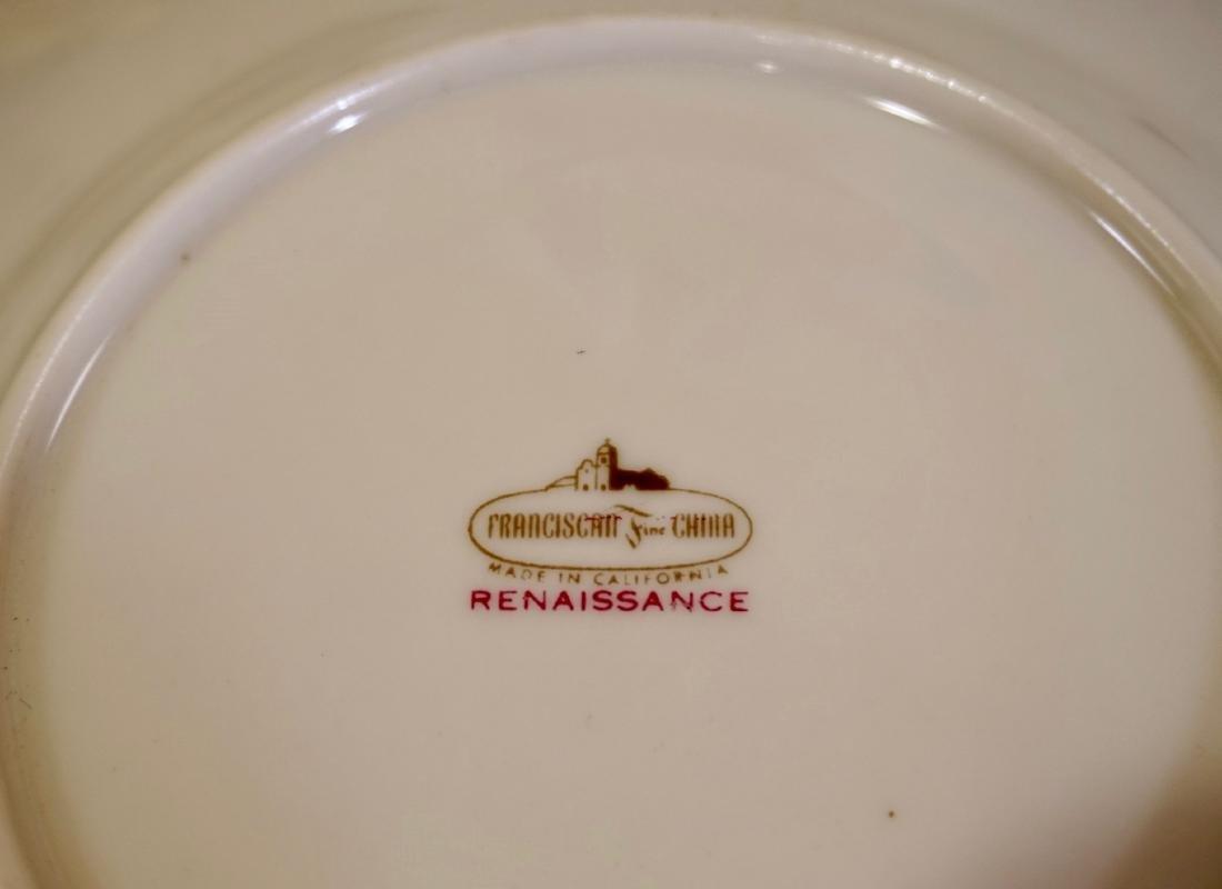 Franciscan Renaissance Fine Porcelain Plates Lot of 6 - 4