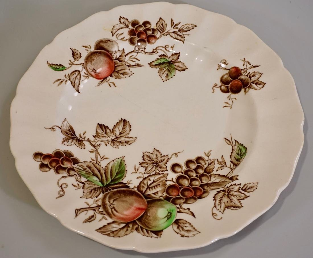 Johnson Brothers Harvest Time English China Engraved