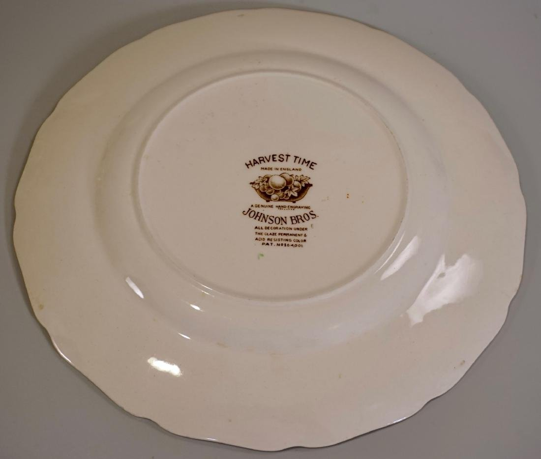 Johnson Brothers Harvest Time English China Engraved - 3