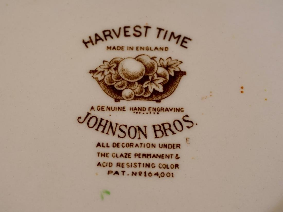 Johnson Brothers Harvest Time English China Engraved - 4